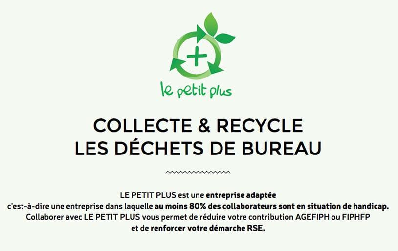 Decouvrez la nouvelle filiale de Paprec Group, Le Petit Plus