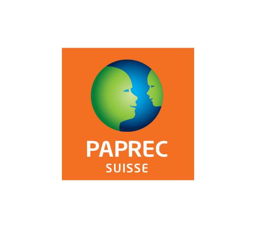 Logo Papre Suisse, filiale de Paprec Group