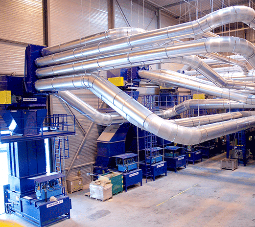 Design, installation and maintenance of technical equipment