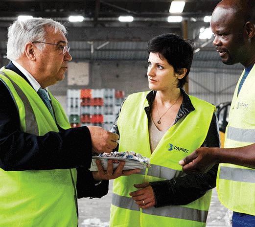 Vente des matières premières issues du recyclage (MPIR)