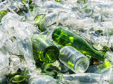 La collecte du verre