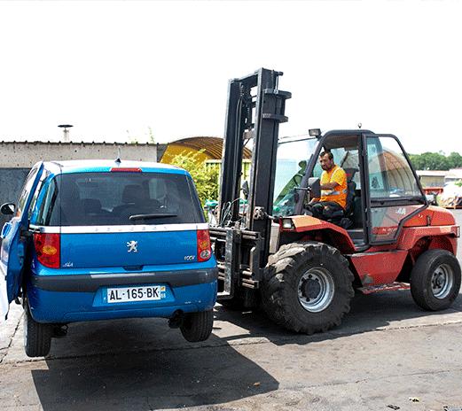 Traitement des véhicules hors d'usage