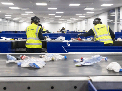 Le cycle du recyclage du PVC