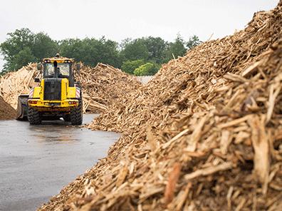 Le devenir des déchets de bois