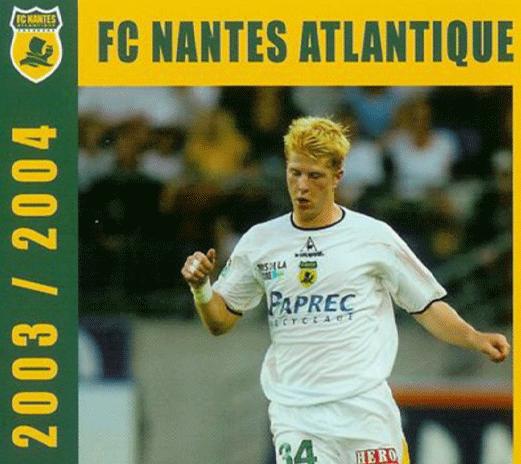 FC Nantes sponsorisé par Paprec Recyclage