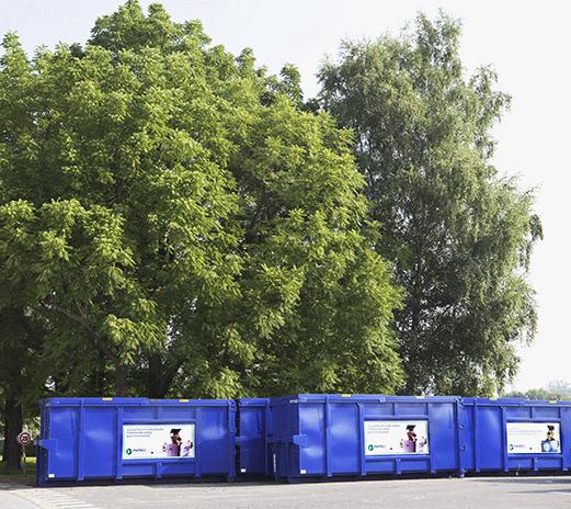 Recyclage des matières chez Paprec Group