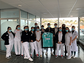 ASM Clermont-Auvergne and the Paprec Group pay homage to healthcare workers
