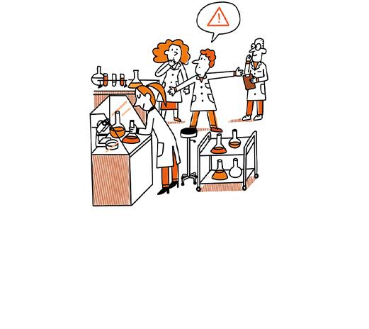 Laborantin déchets dangereux