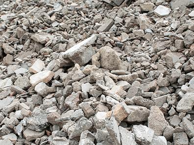 Le tri des déchets de chantiers en infographie