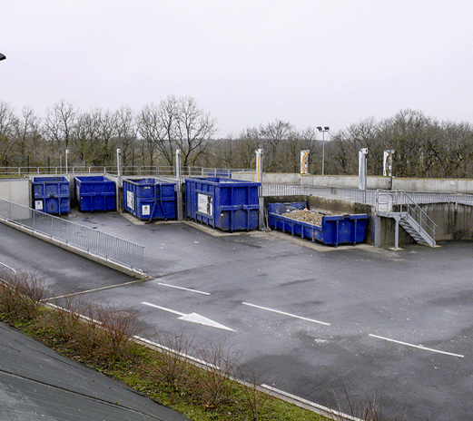 Recycling centre management