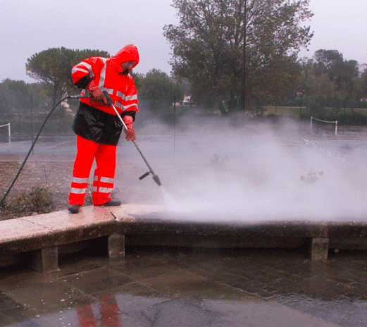 Sanitation and pressure cleaning