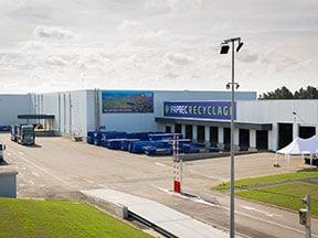 Paprec investit 20 millions d'euros dans un nouveau centre de tri des déchets ménagers, Paprec Trivalo 68