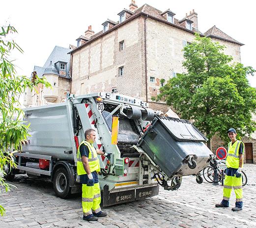 Recogida de los residuos domésticos