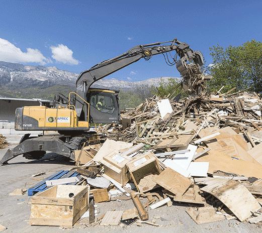Recogida y clasificación de los residuos voluminosos para las entidades locales
