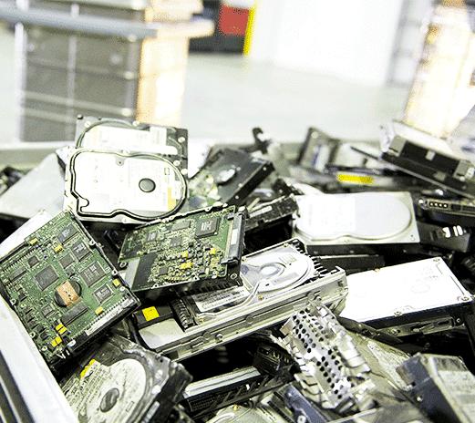 Sichere Vernichtung von digitalen Datenträgern